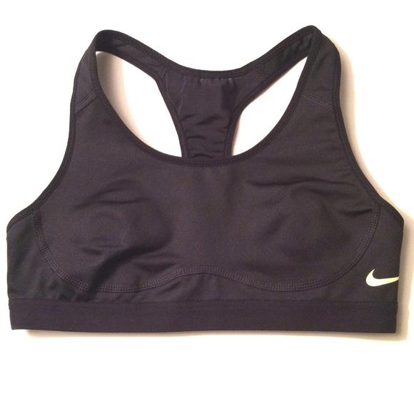 94fb1225cc720 Nike Women s Black Sports Bra Pro Fierce Training